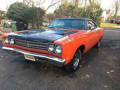 1969 Plymouth Road Runner HARDTOP 1969 ROADRUNNER, 383 V8 AUTO, Fresh Restoration, Bigblock, Low mileage, Hardtop