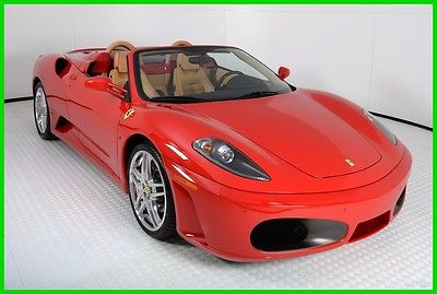 2007 Ferrari 430 Spider F1 2007 FERRARI F430 SPIDER, 2,279 MILES, FERRARI APPROVED CPO, ONE OWNER, LOADED