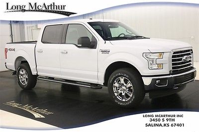 2017 Ford F-150 XLT 4X4 SUPERCREW AUTOMATIC MSRP $46670 4WD 4 DOOR REMOTE START REAR VIEW CAMERA REVERSE SENSING SIRIUS XM SYNC 3