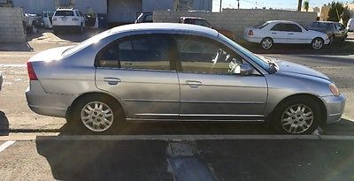 2002 Honda Civic LX 2002 Honda Civic Silver 4 Door Well Maintained Runs Great Clean Title