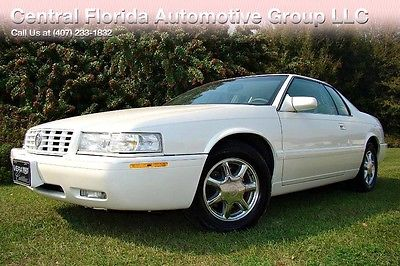 1999 Cadillac Eldorado 1999 CADILLAC ELDORADO ETC ONLY 46,000 MILES! WHITE DIAMOND! 2 OWNER! FLORIDA!