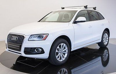2016 Audi Q5 2.0T Premium Plus quattro 2016 Audi Q5, White with 9131 Miles available now!