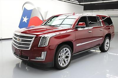 2016 Cadillac Escalade Platinum Sport Utility 4-Door 2016 CADILLAC ESCALADE PLATINUM 4X4 SUNROOF NAV DVD HUD #230226 Texas Direct