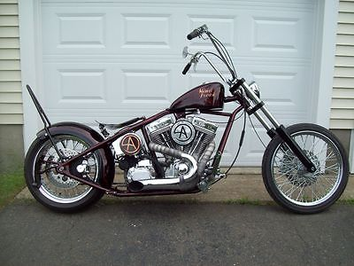 2007 Custom Built Motorcycles Chopper  2007 Counts Kustoms Chopper TV show Counting Cars Celebrity build Criss Angel