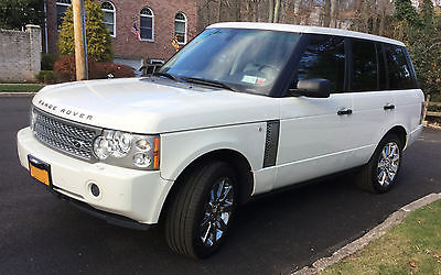 2007 Land Rover Range Rover Supercharged 2007 land rover range rover supercharged excellent condidion low mileage