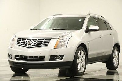 2016 Cadillac SRX Performance Leather GPS Sunroof Silver Like New Navigation Heated Seats Camera Bose 15 17 2017 16 Black V6 1 Owner