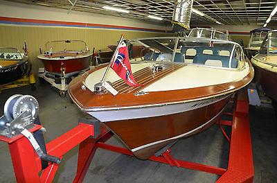 1964 Chris Craft Super Sport 21' Wood Classic Speedboat