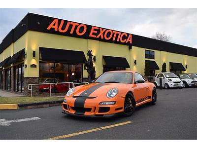 2008 Porsche 911 2008 Porsche 911 GT3 RS 6 Speed Manual ORANGE ALCANTARA RWD SPORT CHRONO