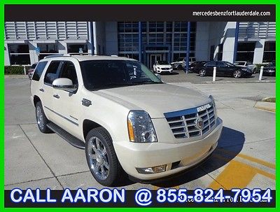 2010 Cadillac Escalade Base Sport Utility 4-Door 2010 Used 6.2L V8 16V Automatic Rear Wheel Drive SUV OnStar Bose
