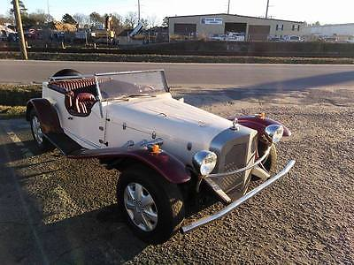 1929 Replica/Kit Makes Mercedes Gazelle replica burgundy 1929 Mercedes Gazelle Replica Vw Chassis
