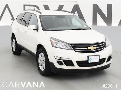 2014 Chevrolet Traverse Traverse LT WHITE 2014 Traverse with 31876 Miles for sale at Carvana