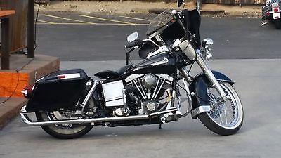 1982 Harley-Davidson Touring  1982 HARLEY DAVIDSON FLH  RECENT REBUILT MOTOR