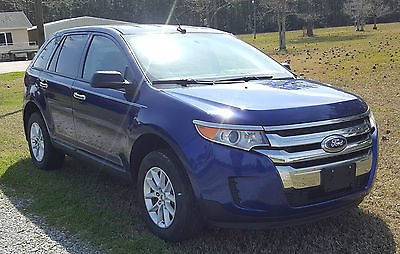 2014 Ford Edge SE 2014 FORD EDGE - FOR SALE BY OWNER - EXCELLENT CONDITION
