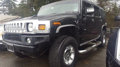 2007 Hummer H2 SUV 2007 HUMMER H2 SUV Black Sport Utility Gas V8 6.0L/366 Automatic 74,021 Miles