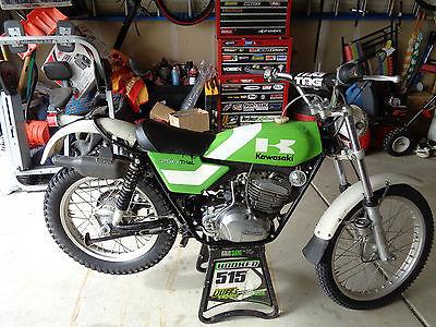 1975 Kawasaki Other  1975 Kawasaki KT250 Trials Bike Survivor