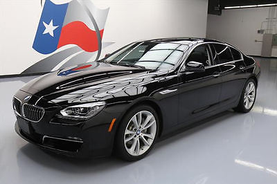 2014 BMW 6-Series Base Sedan 4-Door 2014 BMW 640I GRAN COUPE SUNROOF NAV REARVIEW CAM 41K #317762 Texas Direct Auto