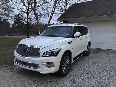 2016 Infiniti QX80 SIGNATURE THEATER PACKAGE 2016 INFINITI QX80 SIGNATURE THEATER PACKAGE BEAUTIFUL!!!