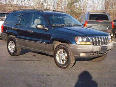 2001 Jeep Grand Cherokee Laredo 4dr 4WD SUV 2001 Jeep Grand Cherokee Laredo 4dr 4WD SUV 4.0L I6 Automatic 4-Speed Blue