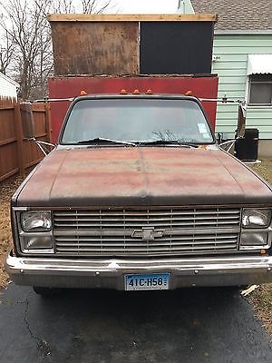 1984 Chevrolet Other Pickups 1984 brown cal c30