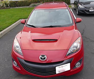2010 Mazda Mazda3 Sport 2010 Mazdaspeed 3, Red, Low Mileage