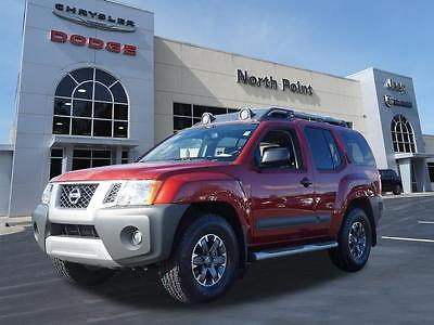 2015 Nissan Xterra PRO-4X Lava Red Nissan Xterra with 27,621 Miles available now!