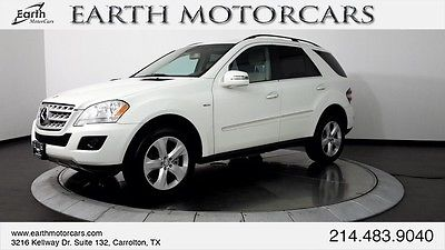 2011 Mercedes-Benz M-Class Bluetec 4Matic Sport Utility 4-Door 2011 MERCEDES BENZ ML350 BLUETEC PREMIUM 1, CARFAX CERTIFIED, NAV, ROOF, NICE!