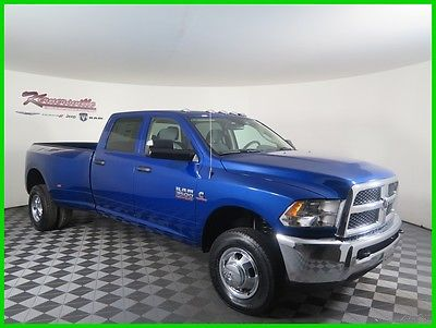 2017 Ram 3500 Tradesman 4x4 Manual Cummins Turbo Diesel Crew Cab 2017 RAM 3500 Tradesman 4WD Crew Cab LB Truck Cloth Interior FINANCING AVAILABLE