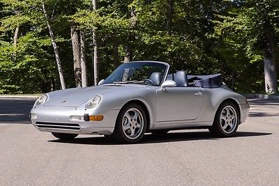 1995 Porsche 911 Carrera 4 1995 Porsche 911 Carrera Convertible, Manual, 80k Miles