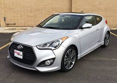 2016 Hyundai Veloster Base 3dr Coupe DCT w/Black Seats 2016 Hyundai Veloster Turbo 3dr Coupe w/Black Seats 8,478 miles