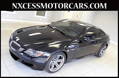 2007 BMW M6 Base Coupe 2-Door M6 SPORT COUPE CARBON FIBER PKG CLEAN CARFAX.