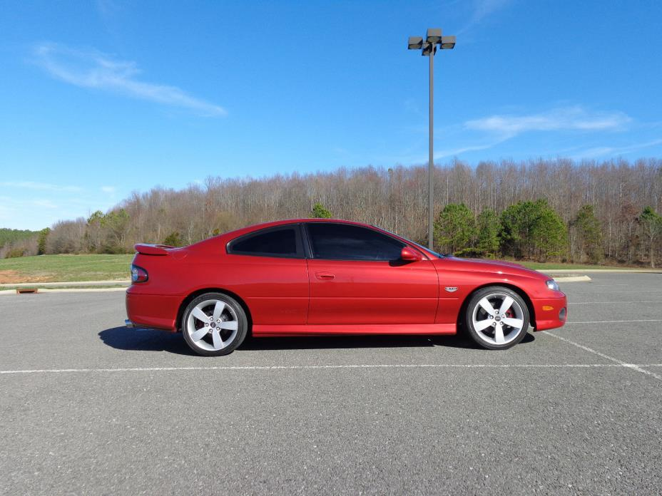 2006 Pontiac GTO  CLEAN 6 Speed LS2 400HP Spice Red - Only LIGHT Modifications