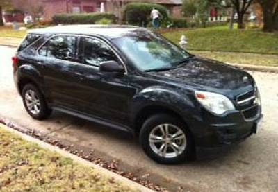 2013 Chevrolet Equinox LS 2013 Chevrolet Equinox, Black with 62770 Miles available now!
