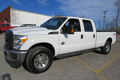 2012 Ford F-250 F350 4X4 CREW CAB 8FT BED 6.7 AUTO 3.31 AXLE 67000 MILES!!!READY TO WORK !$SAVE THOUSAND$!FLEET MAINTAINED!!SHOP THIS PRICE$$