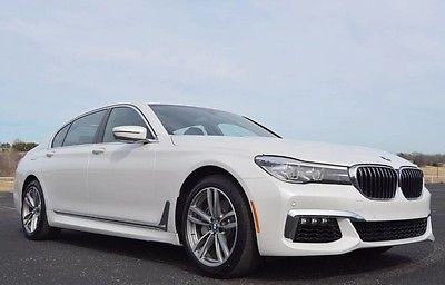 2017 BMW 7 Series 740i M Sport 5700 Miles Like New
