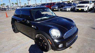 2013 Mini Cooper -- 2013 MINI Cooper Hardtop  61,346 Miles Black Hatchback Gas I4 1.6L/98 Manual