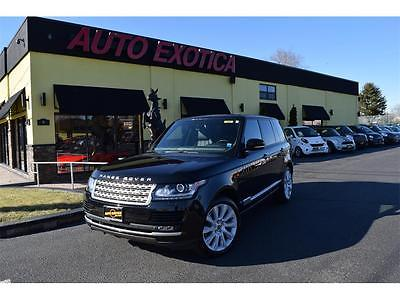 2013 Land Rover Range Rover 2013 Land Rover Range Rover Supercharged BLACK SUV SOFT CLOSE DOORS