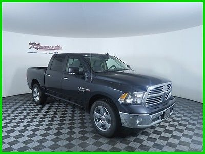 2017 Ram 1500 Big Horn 4x4 V8 HEMI Crew Cab Truck Premium Cloth 2017 RAM 1500 4WD Crew Cab Truck Backup Camera UConnect 8.4in 6 Speakers