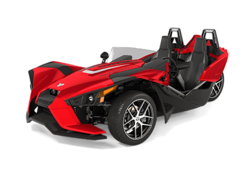 2017 Polaris Slingshot Reverse Trike SL Sunset Red