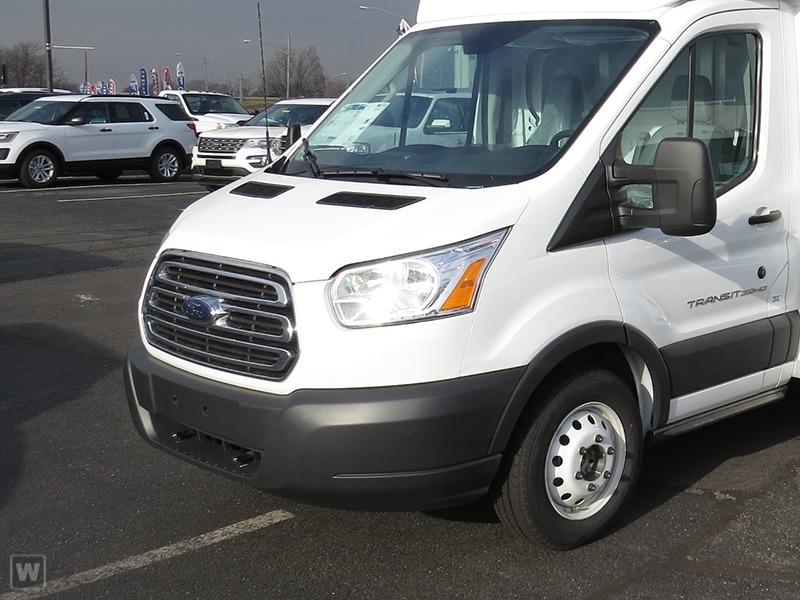 2017 Ford Transit 350 Hd  Cutaway-Cube Van