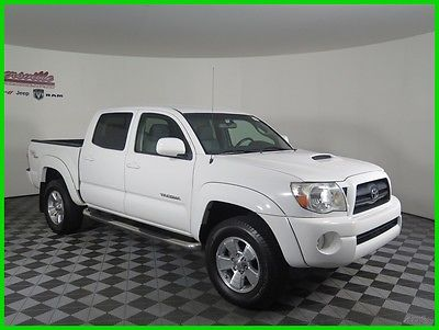 2006 Toyota Tacoma SR5 4x4 V6 Crew Cab Truck Cloth Seats Automatic 104438 Miles 2006 Toyota Tacoma 4WD Towing Package Bedliner Keyless Entry