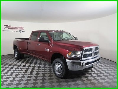 2017 Ram 3500 Tradesman Dually 4x4 Cummins Diesel Crew Cab LB 2017 RAM 3500 Tradesman Dually 4WD Crew Cab LB Truck Cloth FINANCING AVAILABLE