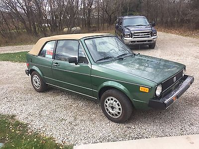 1981 Volkswagen Rabbit Convertible 1981 Volkswagen Rabbit Convertible