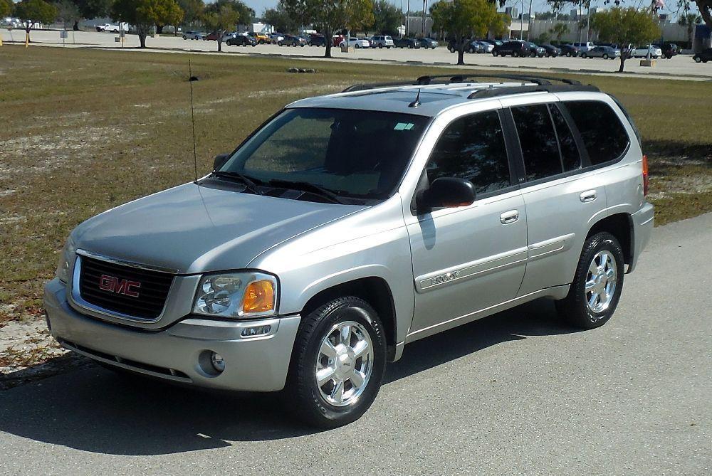 2004 GMC Envoy 4X4 SLT PREMIUM SUV~CHROME WHEELS! AMAZING TRUCK~AWD~LEATHER~SUNROOF~NON SMOKER~CARFAX!05 06 07 08