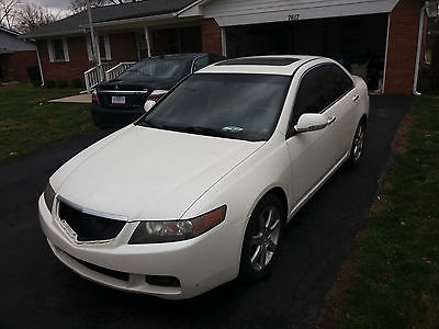 2004 Acura TSX Base Sedan 4-Door 2004 Acura TSX Base Sedan 4-Door 2.4L