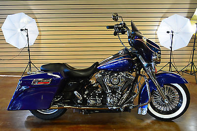 2007 Harley-Davidson Touring  2007 Harley Davidson Street Glide FLHX Custom Clean Title Good Looking Bike