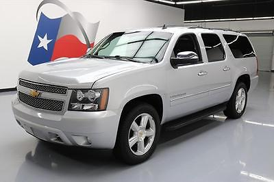 2013 Chevrolet Suburban LTZ Sport Utility 4-Door 2013 CHEVY SUBURBAN LTZ 4X4 8-PASS VENT LEATHER NAV 81K #238329 Texas Direct