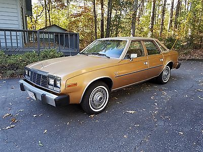1983 Other Makes Concord DL Sedan 4-Door 1983 AMC Concord DL Sedan 4-Door 4.2L