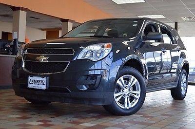 2014 Chevrolet Equinox LS 2014 Chevrolet Equinox LS 31791 Miles Ashen Gray Metallic 4D Sport Utility 2.4L