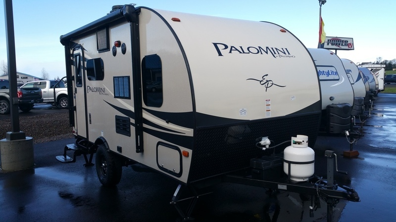 2016 Palomino PaloMini Lite Travel Trailer 150 RBS