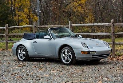 1996 Porsche 911 Carrera 1996 Porsche 911 Convertible 6-Speed 68k miles Clean CarFax
